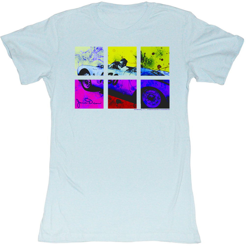 Neon Square Divided Junior Top