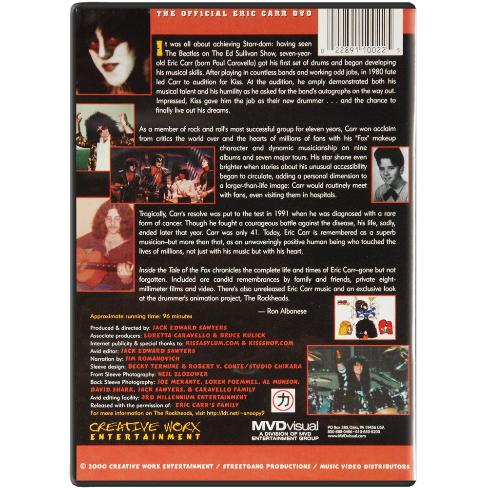 Tale Of The Fox DVD