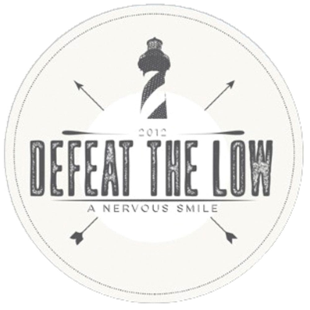 Defeat The Low A Nervous Smile Coaster