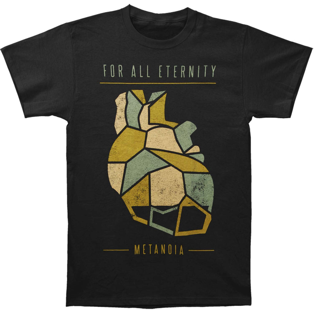 For All Eternity Color Heart T-shirt