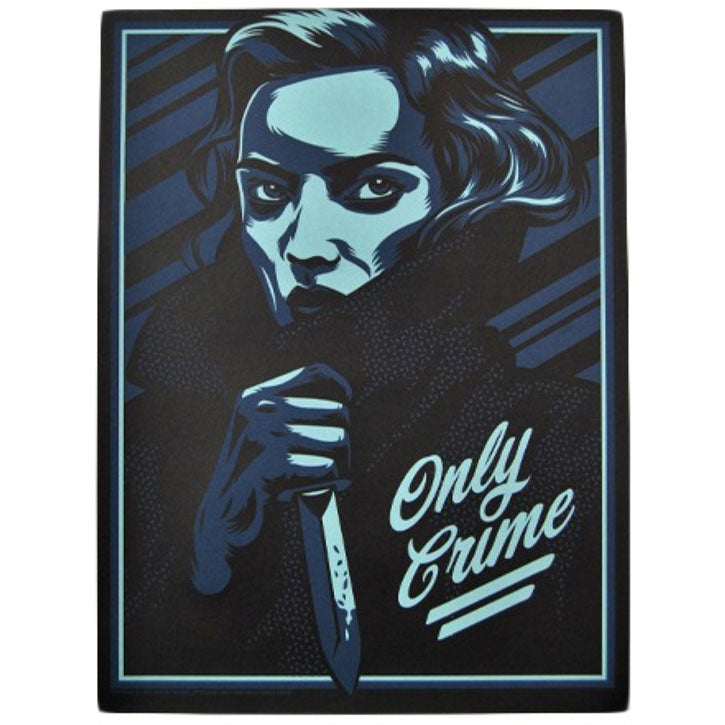 Only Crime Widower Limited Screenprint