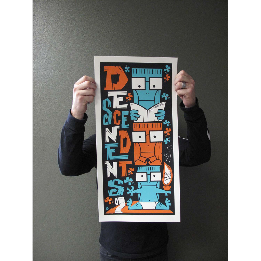 Since 1977 (Colorway 1) by Dave Perillo Limited Screenprint