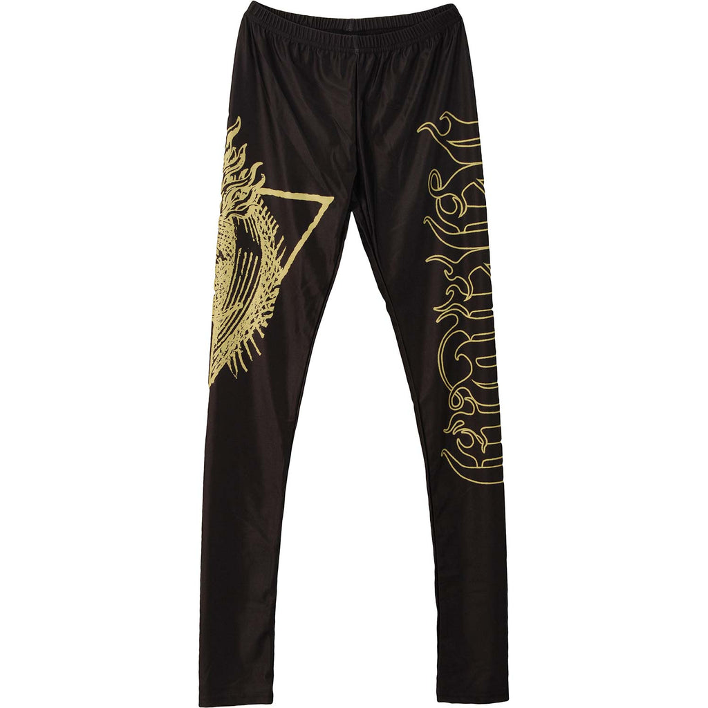 Gold Fire Leggings Leggings
