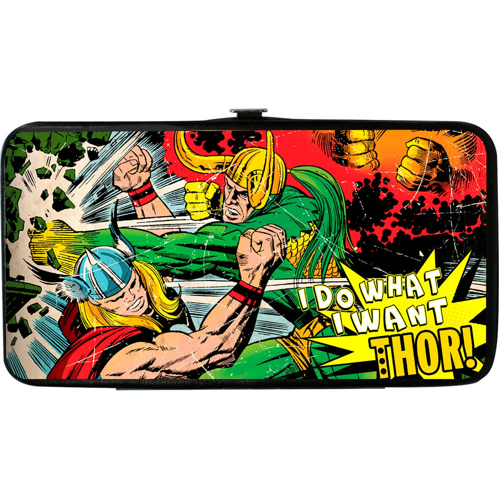 Thor & Loki Battle Scene I Do What I Want Thor! Girls Wallet