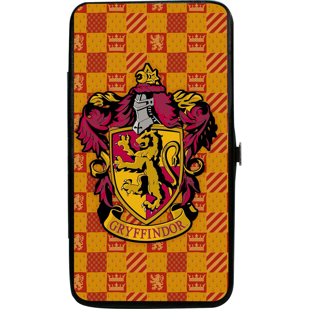 Harry Potter Gryffindor Crest/Heraldry Checkers Golds/Reds Girls Wallet