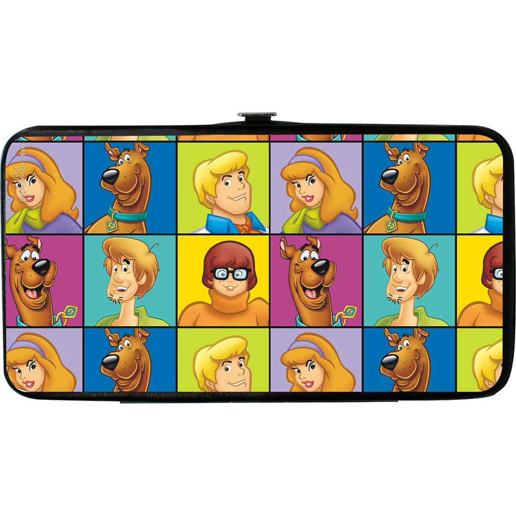 Scooby Doo Character Blocks Girls Wallet