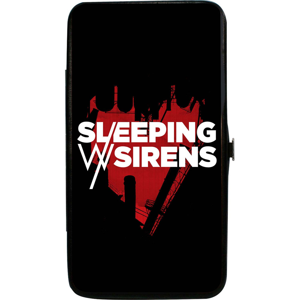 Sleeping With Sirens/Heart Black/Red/White Girls Wallet