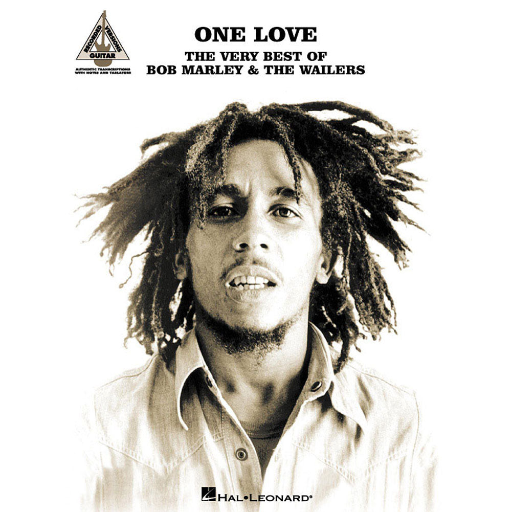 One Love: The Very Best of Bob Marley & The Wailers Music Book