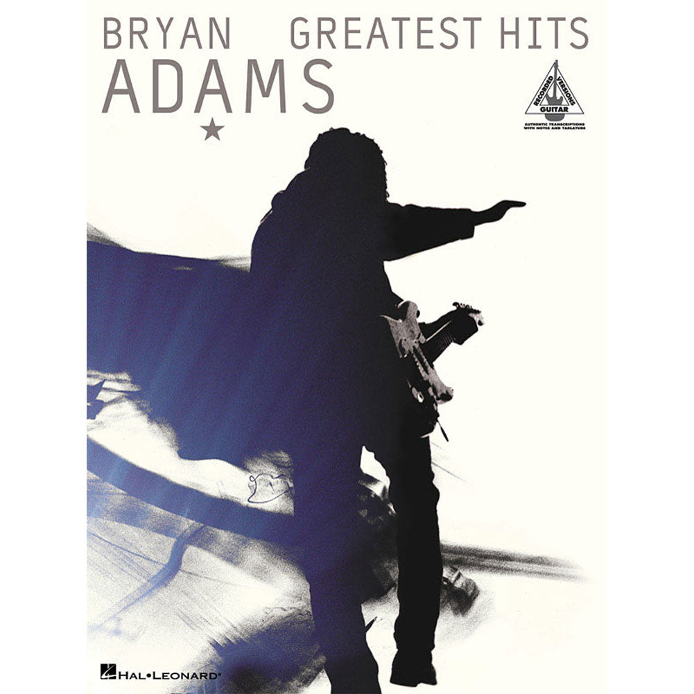 Bryan Adams - Greatest Hits Music Book