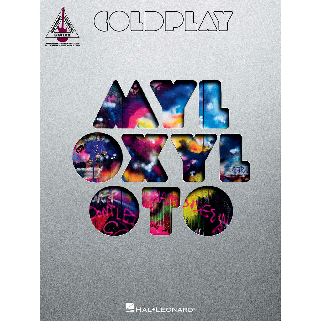 Coldplay - Mylo Xyloto Music Book
