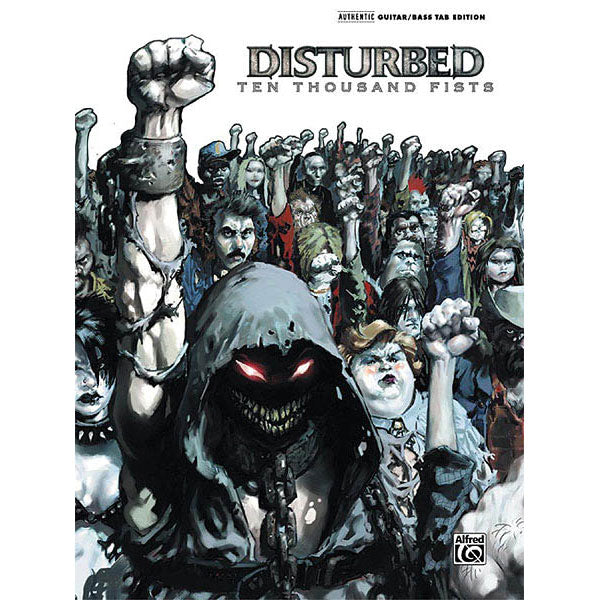 Disturbed - Ten Thousand Fists Music Book