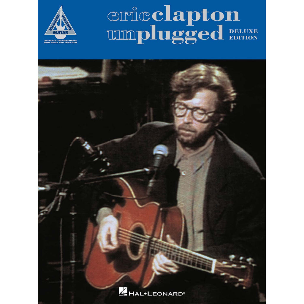Eric Clapton - Unplugged - Deluxe Edition Music Book