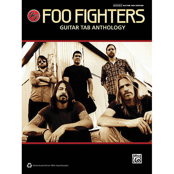 Foo Fighters - Guitar Tab Anthology Music Book