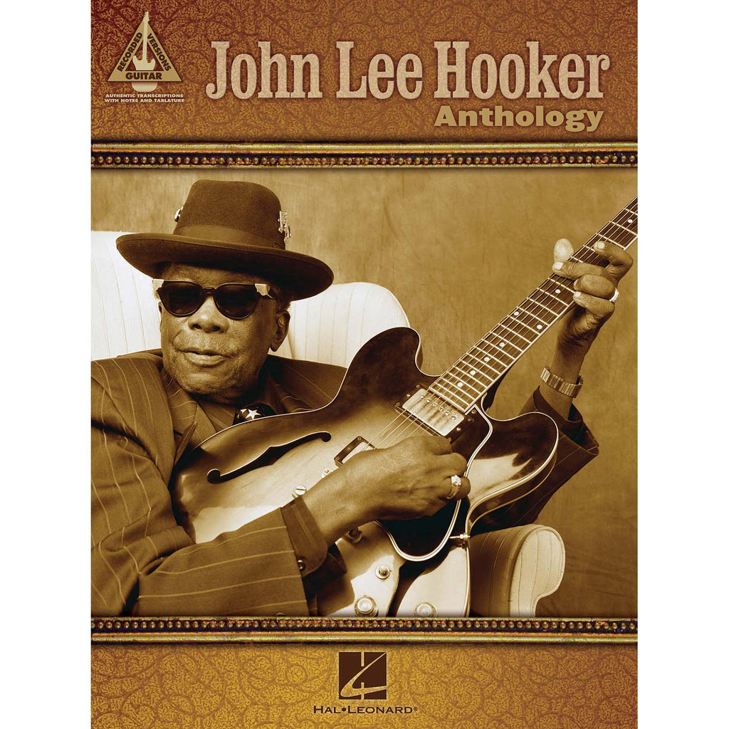John Lee Hooker Anthology Music Book