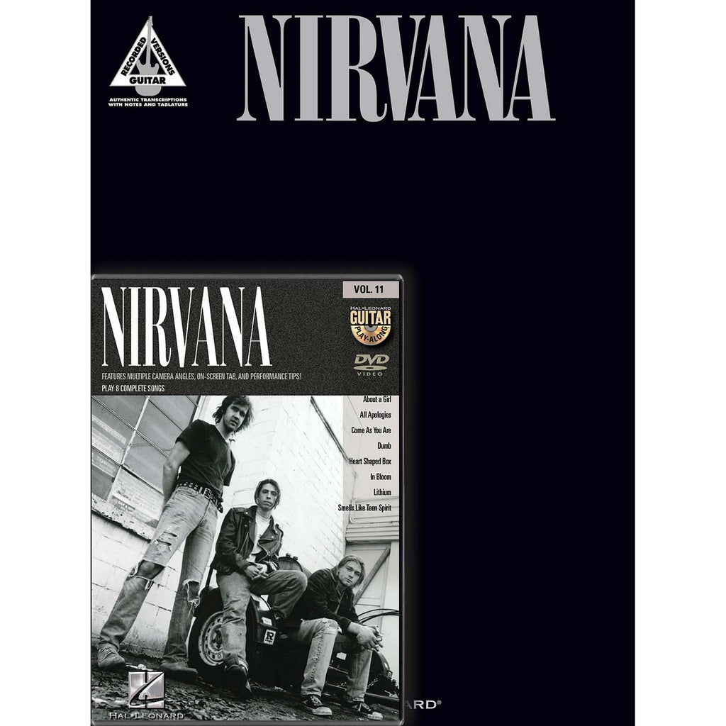Nirvana Guitar Pack Music Book