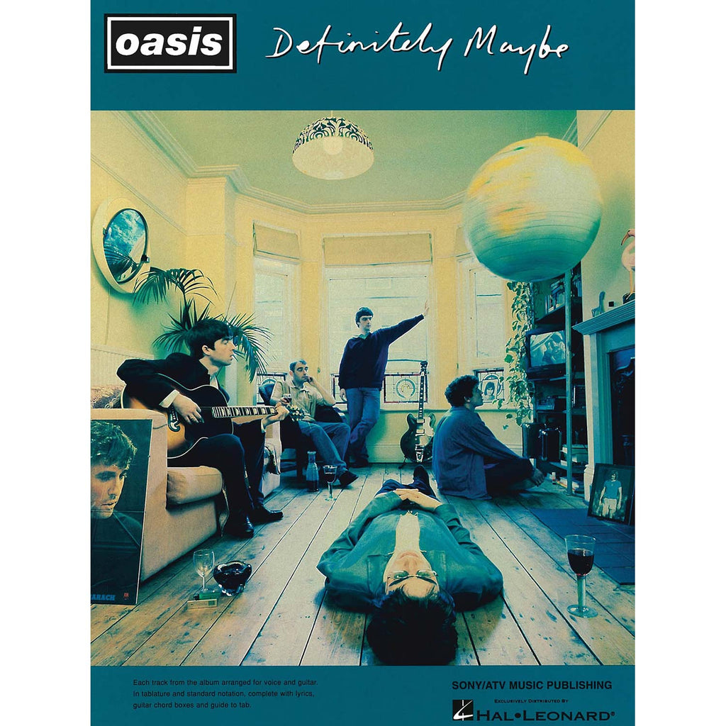 Oasis - Definitely Maybe Music Book