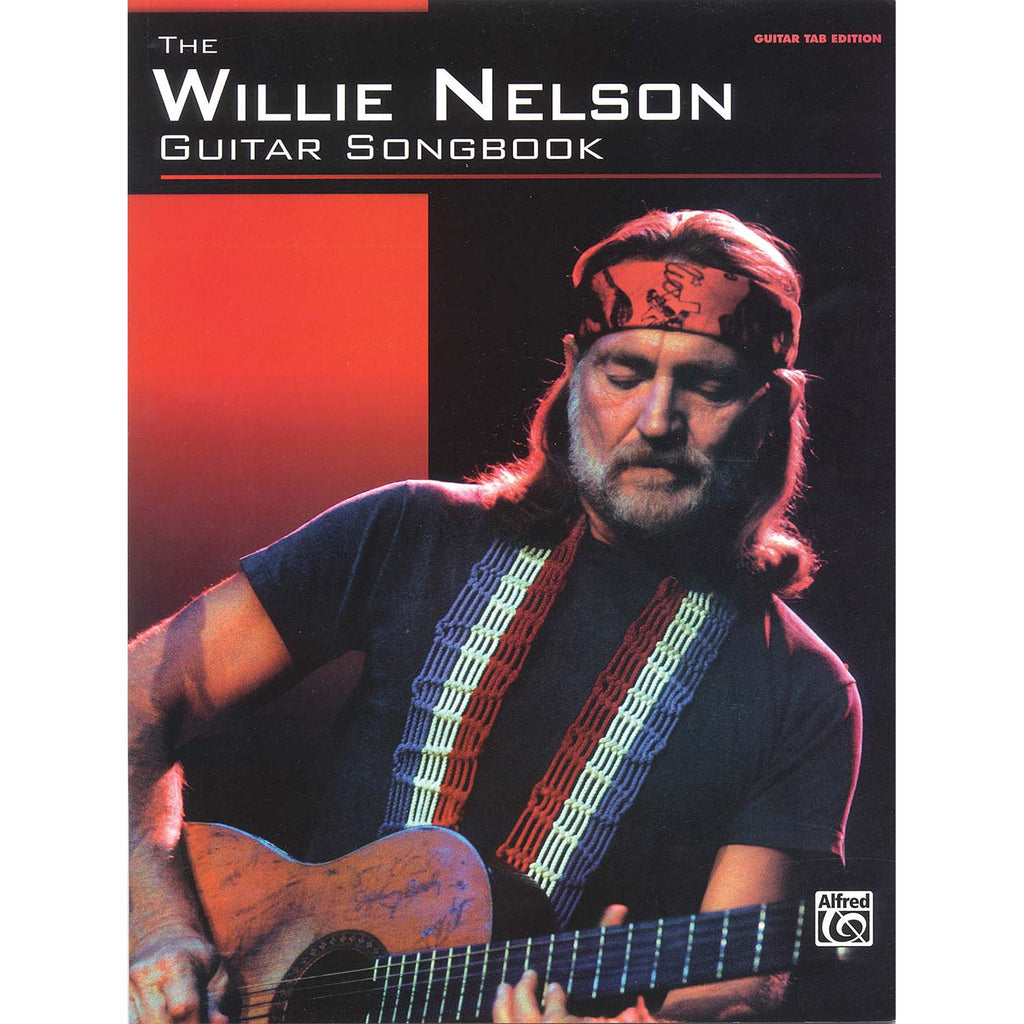 The Willie Nelson Guitar Songbook Music Book