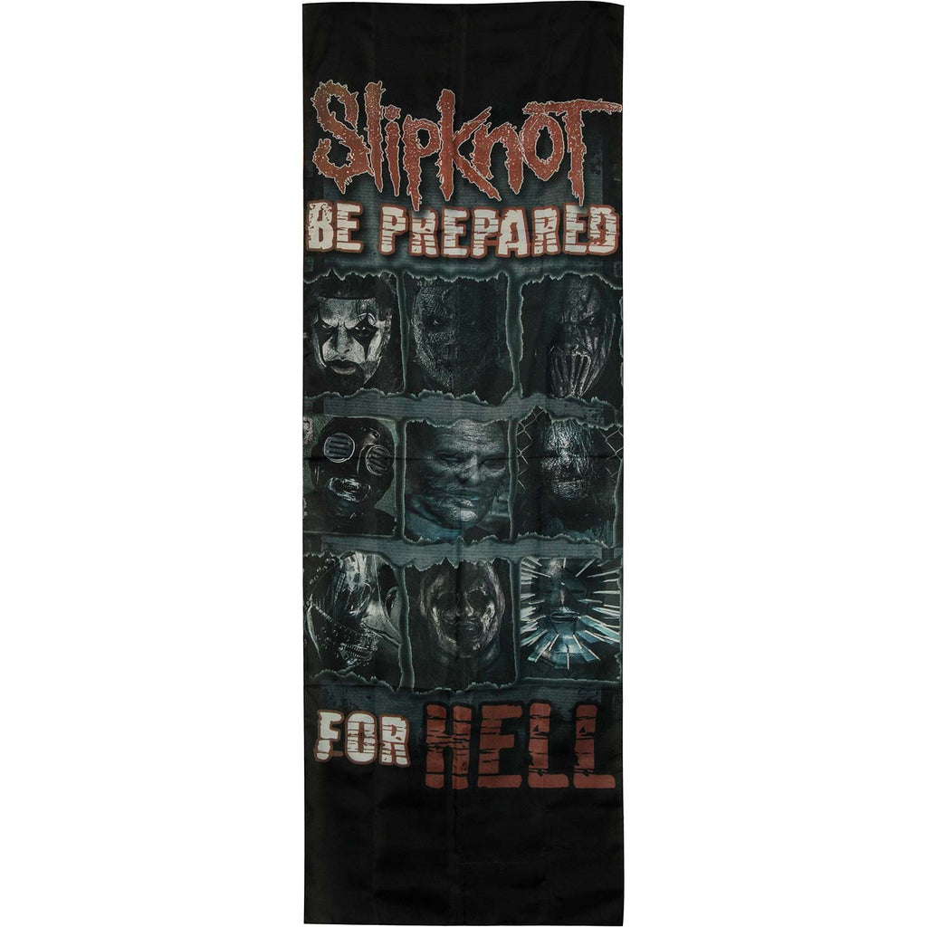 Be Prepared for Hell Door Flag