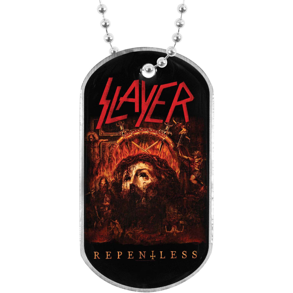Repentless Dog Tag Necklace