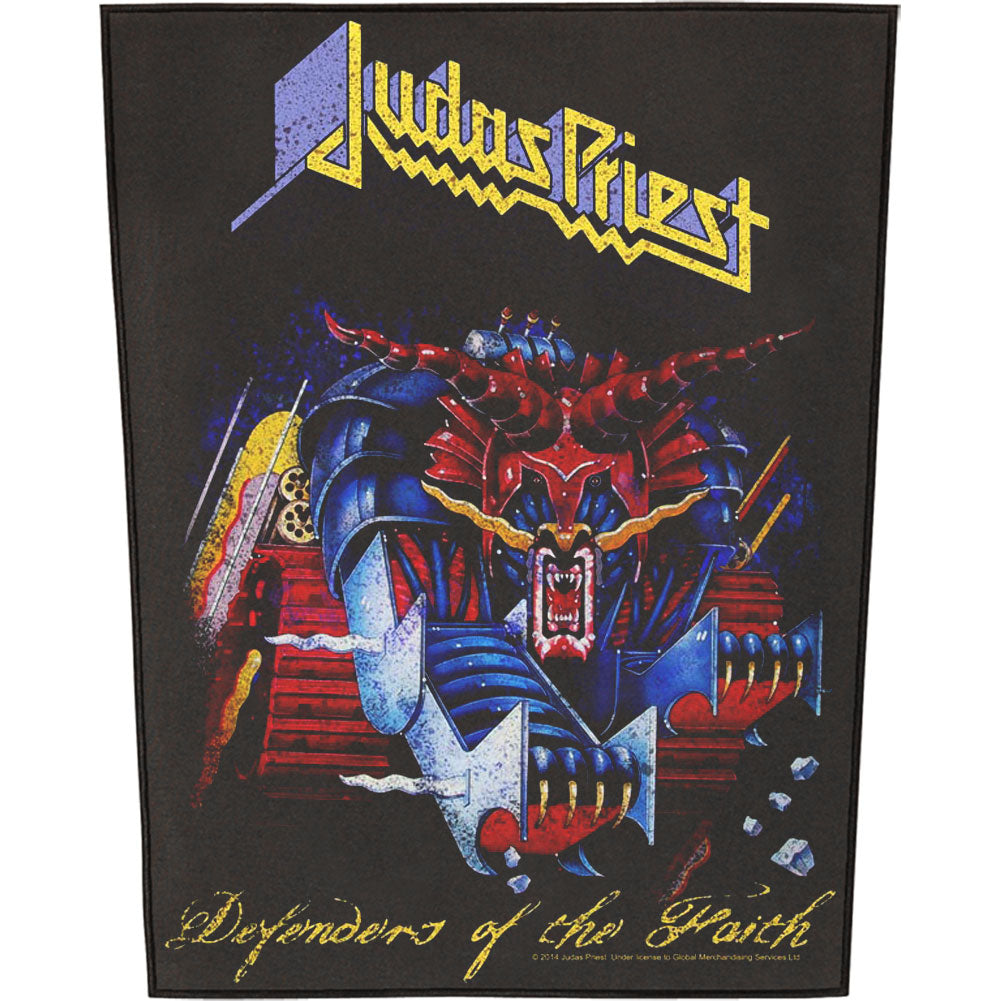 Defenders Of The Faith Back Patch