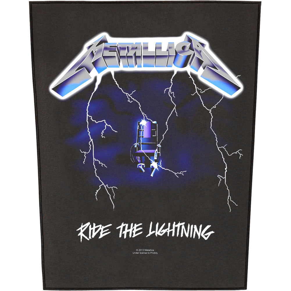 Ride The Lightning Back Patch