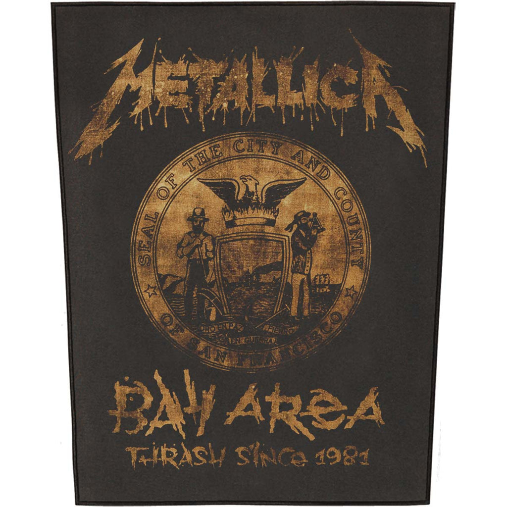 Bay Area Thrash Back Patch