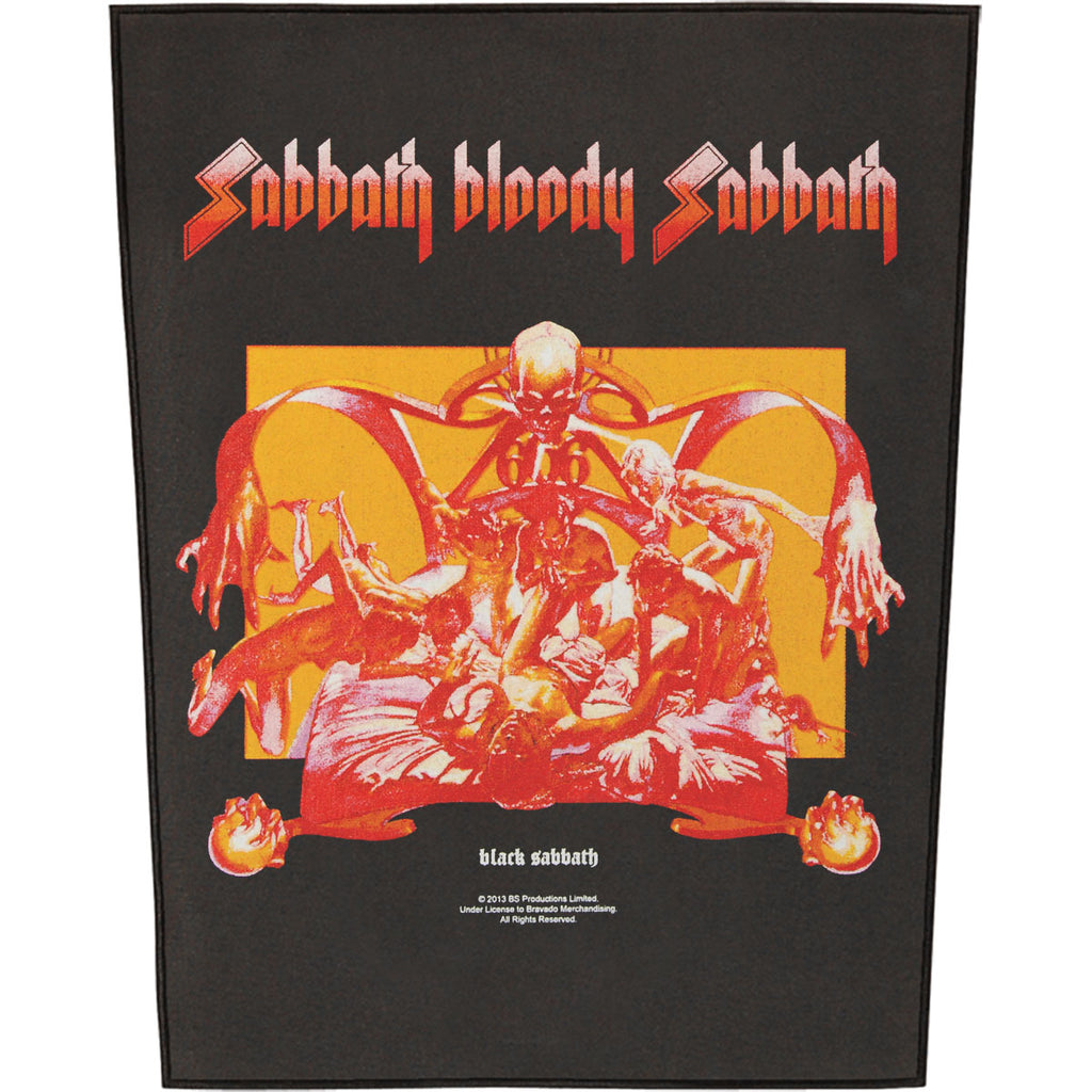 Sabbath Bloody Sabbath Back Patch
