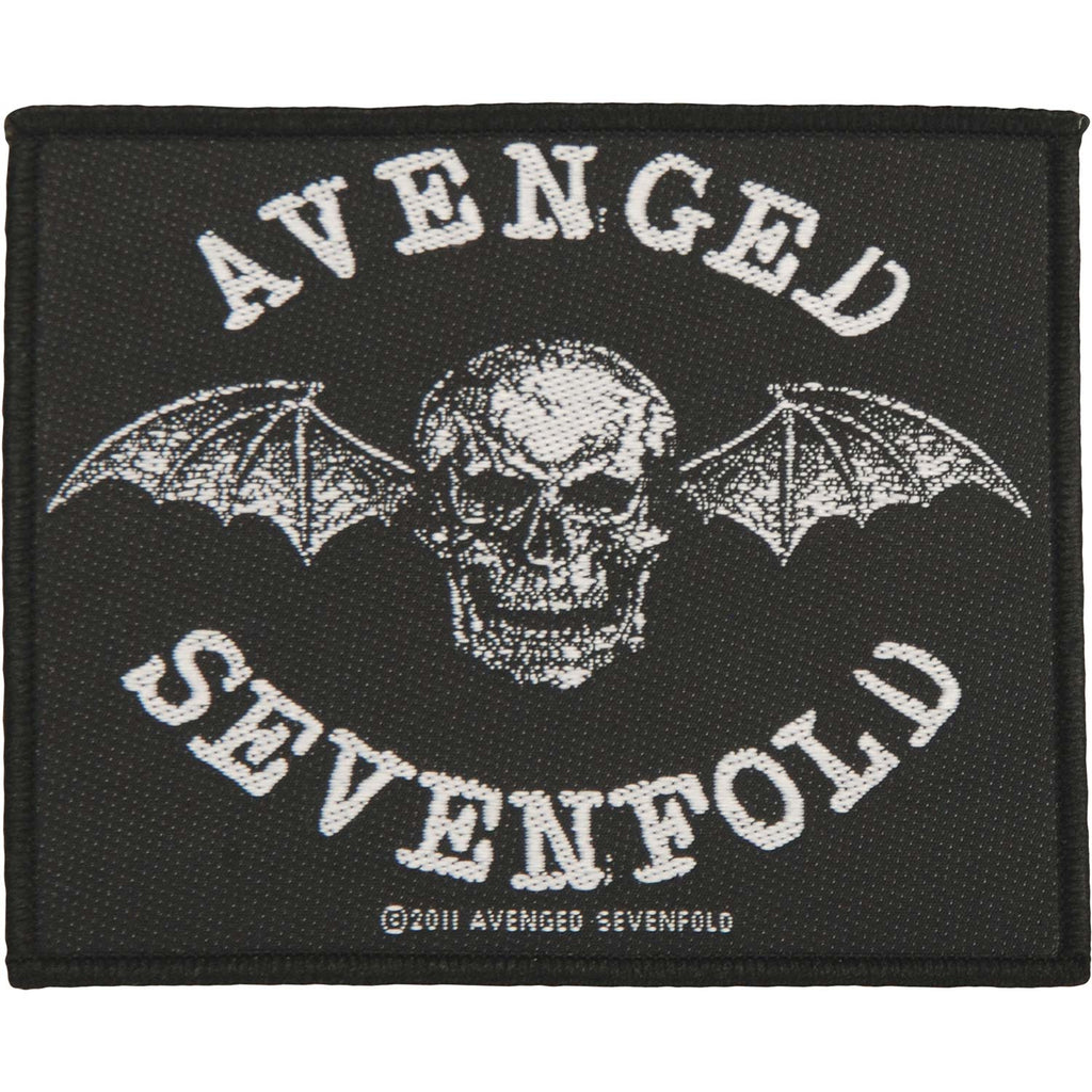 Death Bat Woven Patch