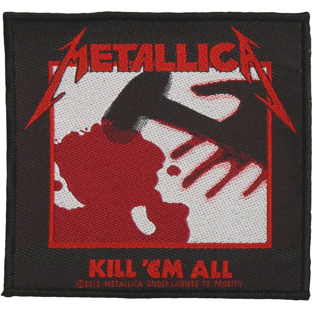 Kill 'Em All Woven Patch