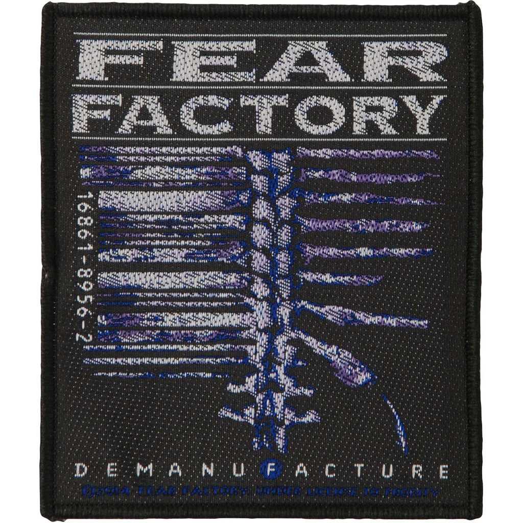 Demanufacture Woven Patch