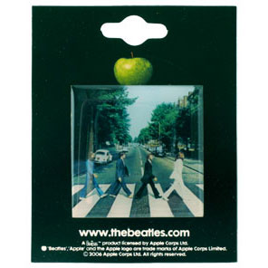 Abbey Road Pewter Pin Badge