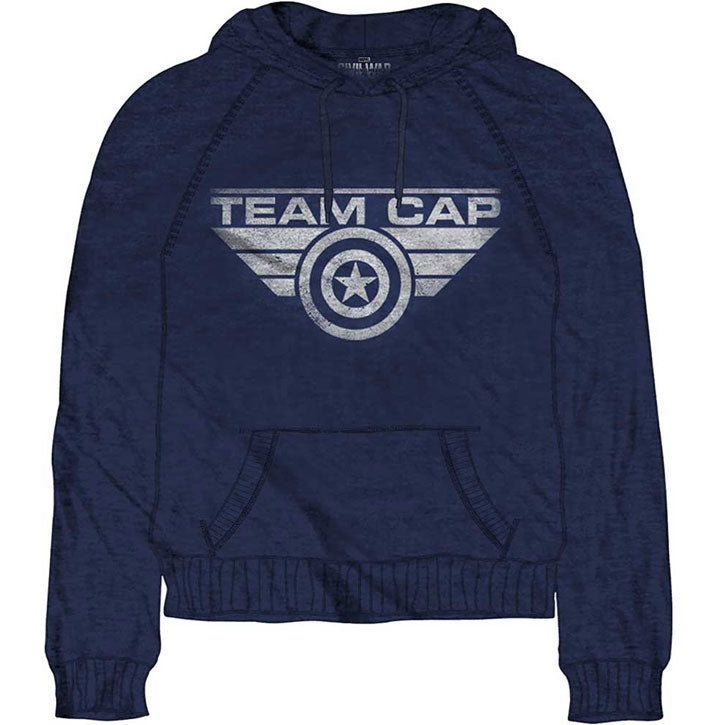 Team Cap Hooded Sweatshirt