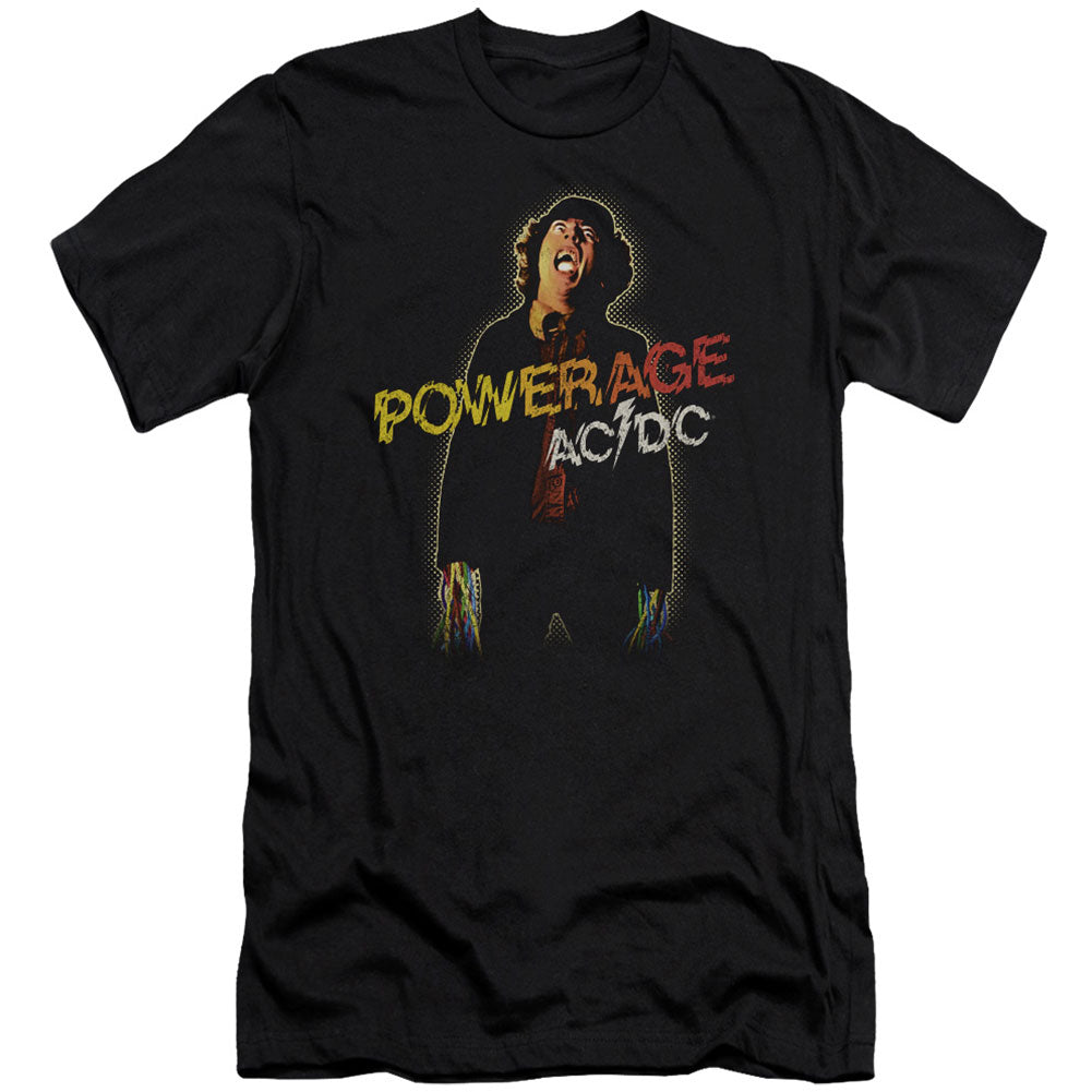 Powerage (Canvase Brand) Adult Slim Fit Slim Fit T-shirt