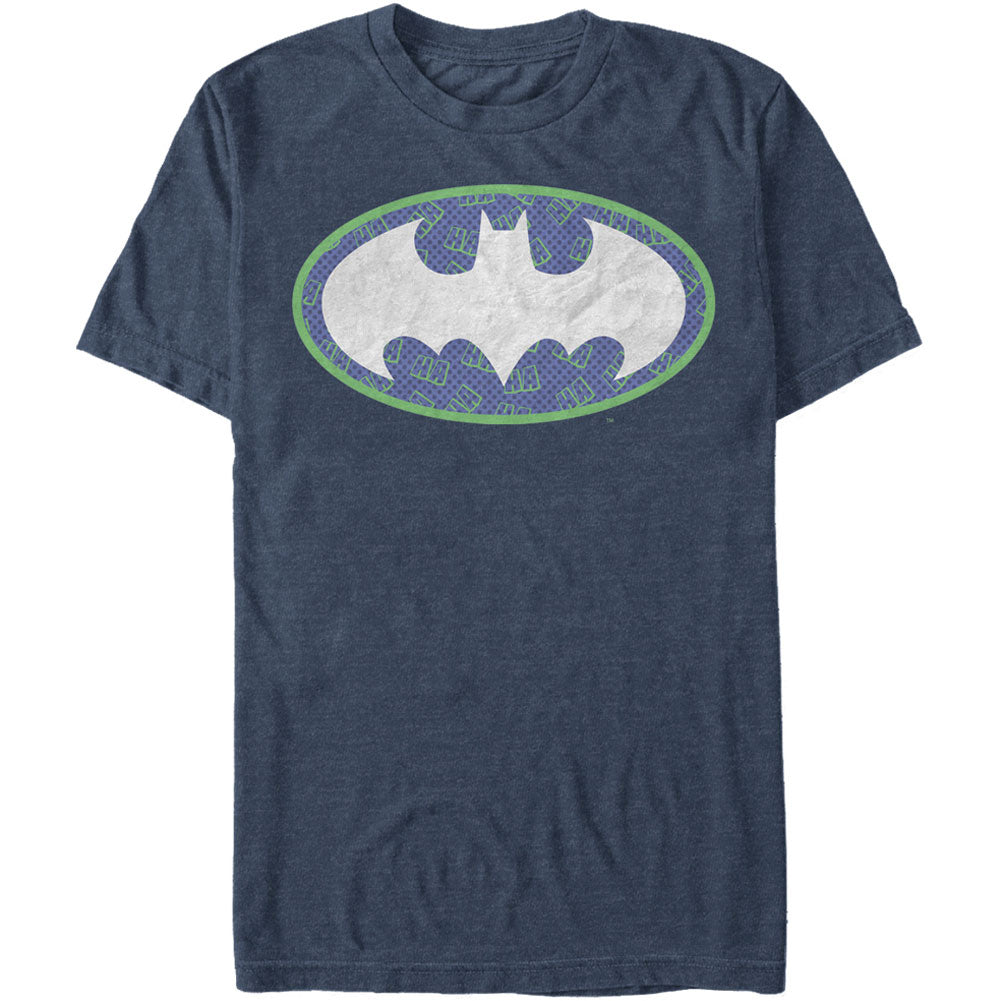 Joker Bat Logo - Heather T-shirt