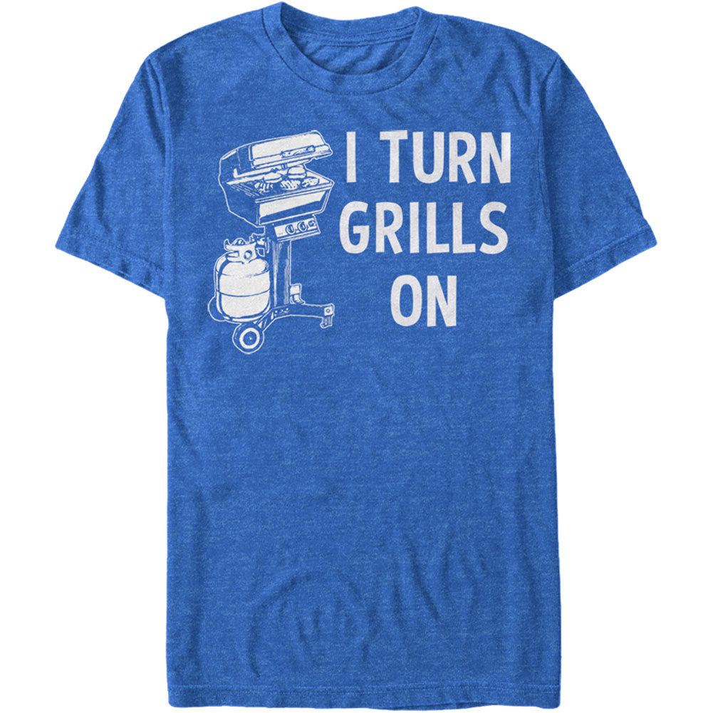 Grills Turn - Heather T-shirt