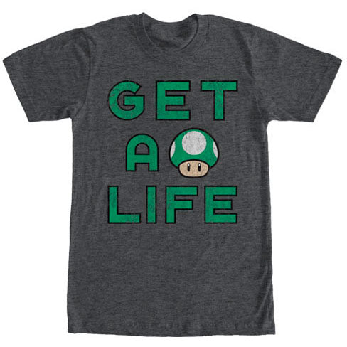 Gets Life - Heather T-shirt
