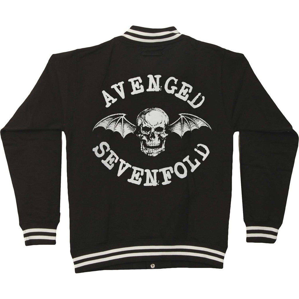 Avenged Sevenfold Death Bat (Back Print) Varsity Jacket