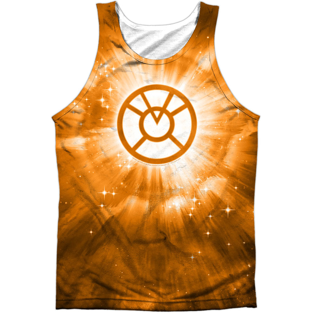 Orange Energy 100% Poly Mens Tank