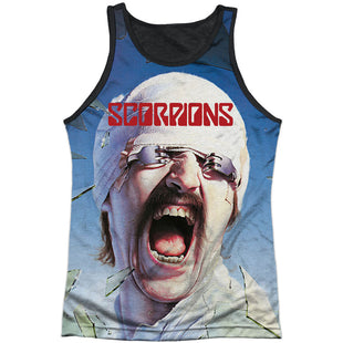 Scorpions Rock Band BLACKOUT Licensed Adult Heather T-Shirt All Sizes