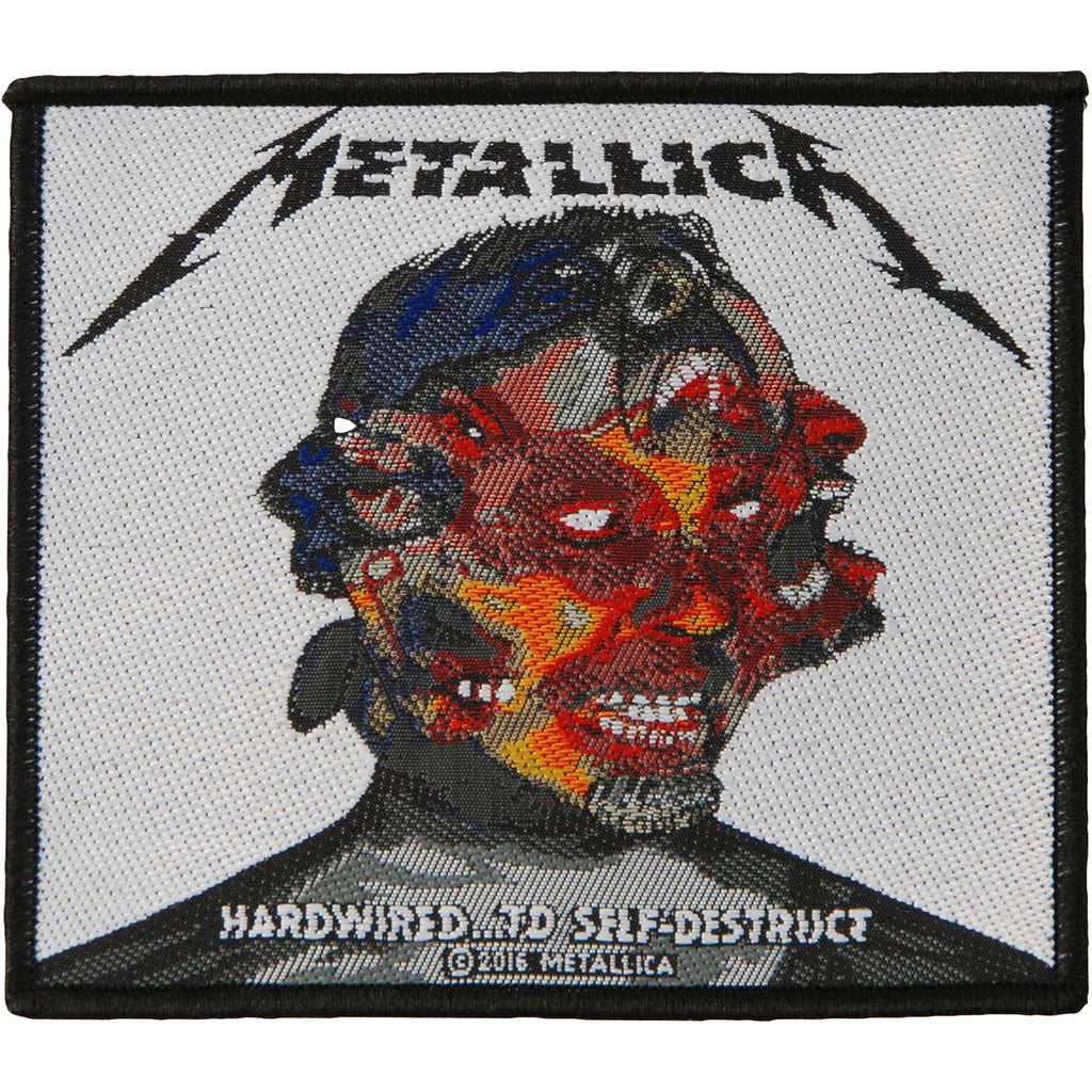 Hardwired To Self Destruct Woven Patch