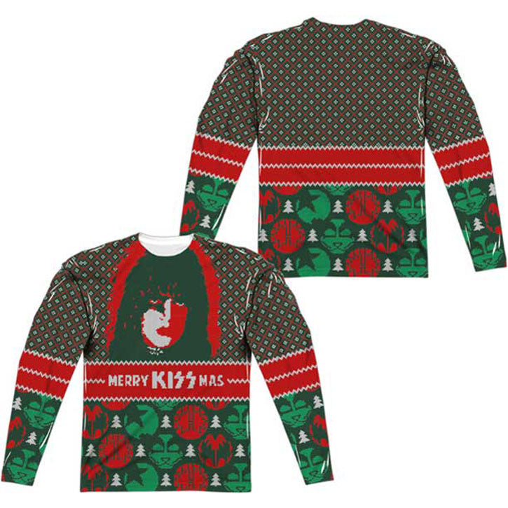 KISSMAS Ugly Christmas Sublimation T-shirt