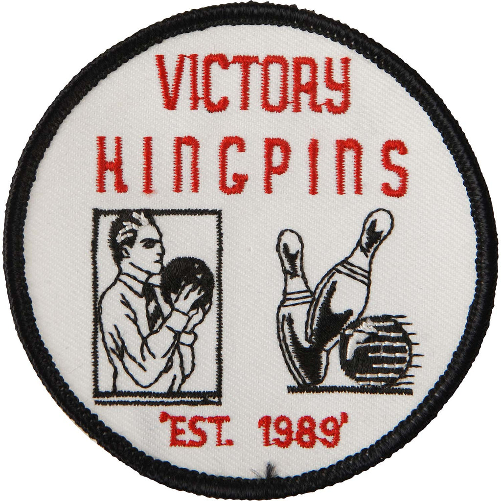 Victory Kingpins Embroidered Patch