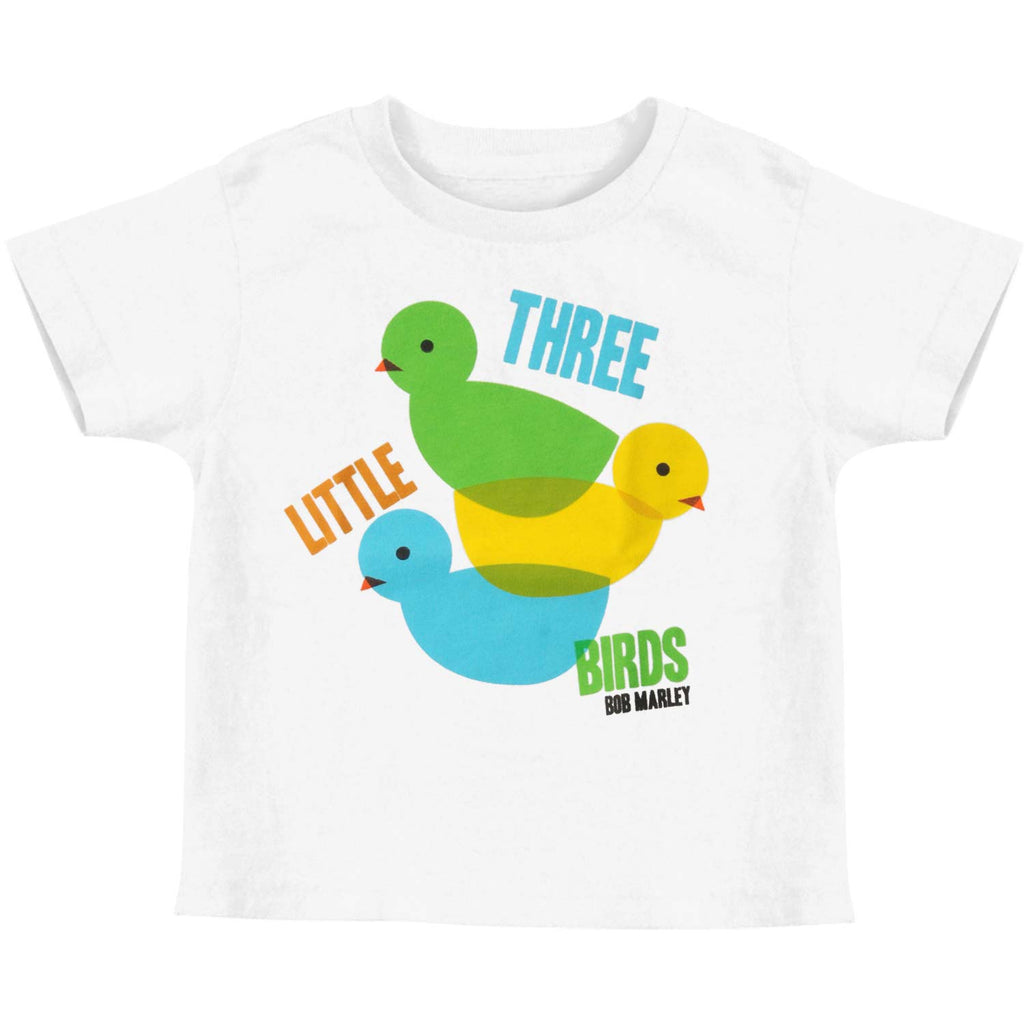3 Lil Birds Color Theory Toddler Childrens T-shirt