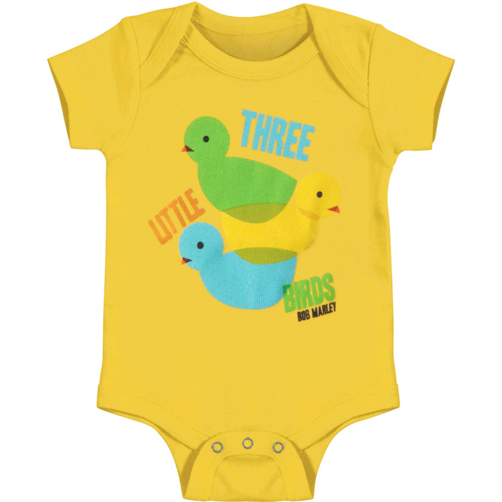 3 Lil Birds Color Theory Creeper Bodysuit