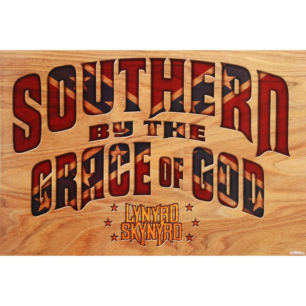 Southern By The Grace Domestic Poster