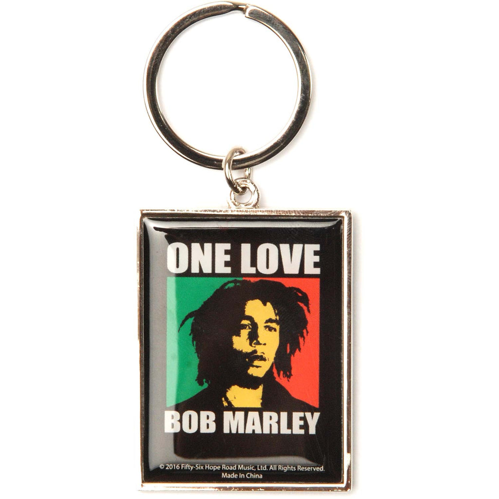 One Love Molded Keychain Metal Key Chain