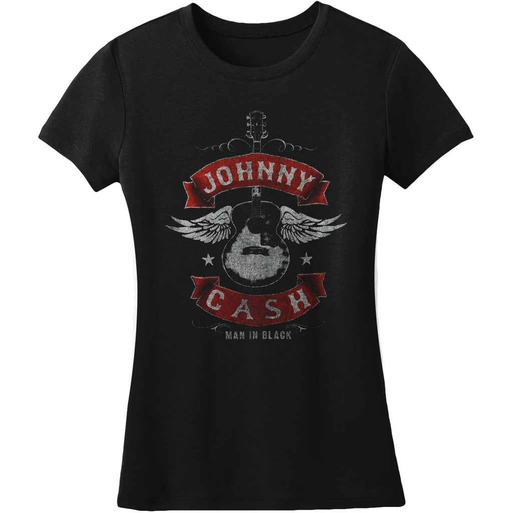 Winged Guitar Juniors Lightweight Tee Junior Top