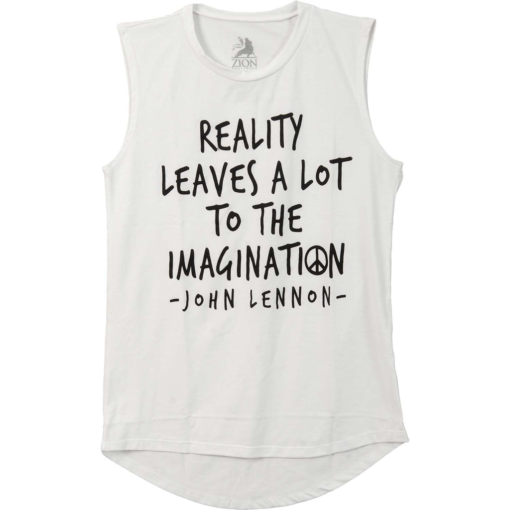 John Lennon Reality Imagination Womens Tank