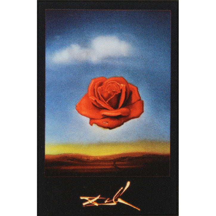 Salvador Dali Rose Meditative Domestic Poster Rockabilia Merch Store