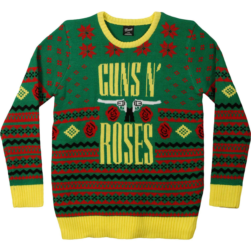 GNR Big Guns Ugly Christmas Sweater Sweatshirt